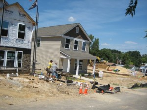 New Homes Sprouting at Smith Place