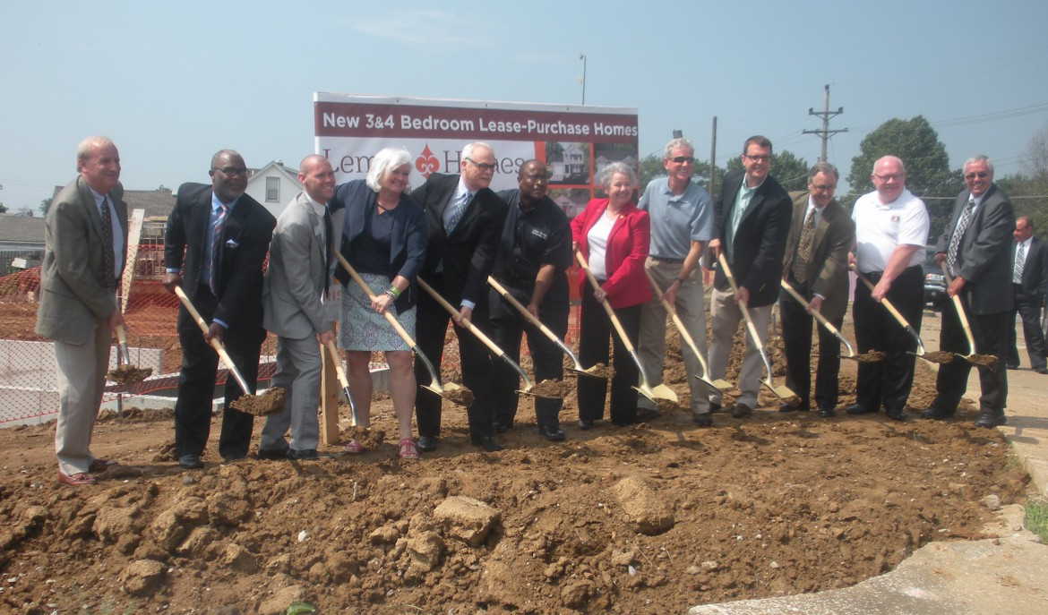Lemay Homes Groundbreaking 241