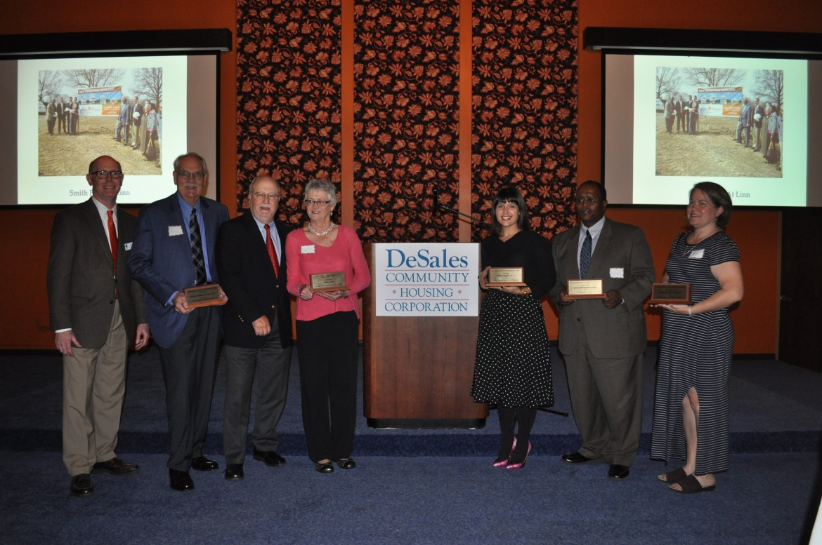 DeSales award for Smith Place